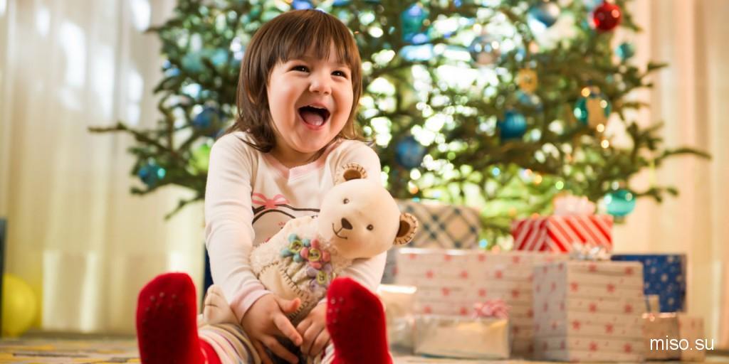 Подарок детям на новый год игрушки